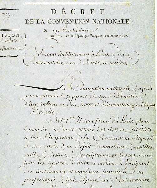 Décrêt de la convention nationale